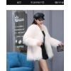 2020秋冬新网红短中长款进口真貉子毛百搭显瘦服饰女定制皮草外套